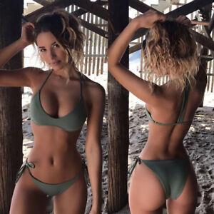 Women's Sexy Bikini Set Push-up Bra Swimsuit Swimwear Beachwear Bathing SwimWear