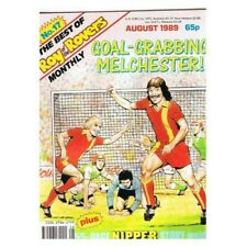 Roy of the Rovers Comic The Best of No.17 August 1989 MBox2796 The best of Augus