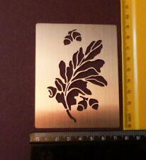ACCIAIO//stencil//Oblungo//Floreale//Fiori//Foglie//Bird//Birdhouse//sbalza//metallo