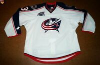 Columbus Blue Jackets * 14/15 * No. 33 * Mike Hoeffel * white/away/set 1 *