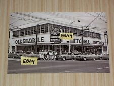 4X6 Vintage Photo 1962 Oldsmobile Dealer Mitchell Motors Atlanta Ga 1962 Olds