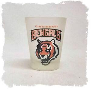 Cincinnati Bengals Frosted Shot Glass