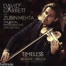 David Garrett/Timeless-Brahms & rottura Violin Concertos * NEW CD 2014 * NUOVO *