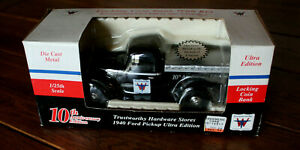 Brand New Trustworthy 1940 Ford Pickup Ultra Edition 1/25th scale with Coin Bank