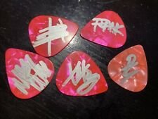 My Chemical Romance Autographed Signed Guitar Picks Gerard Way