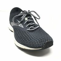Men's Brooks Revel 2 Running Shoes Sneakers Size 8.5 Black White Athletic AA2