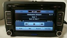 VW GOLF MK5 6 SCIROCCO PASSAT B6 EOS RADIO 6CD PLAYER HEADUNIT RCD510 +CODE