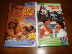 2x VHS Erotik Spass aus den 70igern + 80zigern Heisse Ferien Eis am Stiel 7
