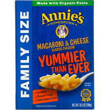 New listing Macaroni & Cheese, Family Size, Classic Cheddar, 10.5 oz (298 g)