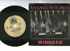 "MOVING PICTURES, WINNERS / PAY THE PIPER 1982 OZ 7""45rpm RECORD PIC SLV nearmint"
