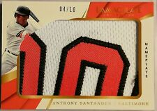 2018 Immaculate Collection ANTHONY SANTANDER Nameplate 4/10