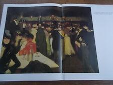 Post Impressionist colour Print PABLO PICASSO Le Moulin de la Galette