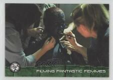 2003 Topps X-Men 2: United #68 Filming Fantastic Femmes Non-Sports Card 1k3