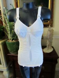 Vintage Bra & Corset  with Garter Support Size 38