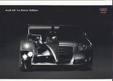 AUDI A6 'LE MANS' EDITION SALES SHEET 'BROCHURE' 2007