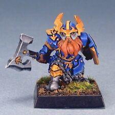 Gargram Dwarf Sergeant Reaper Miniatures Warlord Fighter Paladin Warrior Melee
