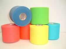 PreWrap Hair Wrap 6 Rolls Hot New Colors Soccer, Sports, Volleyball Sale