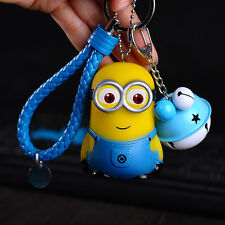 Despicable Me Minion Keyring Key Chain Keyfob Pendant Blue
