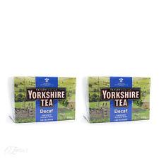 Taylors di Harrogate Yorkshire Decaf 160 TEA BAGS x2