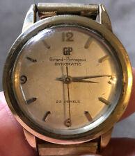 1950's Girard Perregaux Gyromatic Watch 23 Jewel 10k Gf Running - Awarded '58