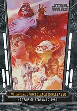 2017 Star Wars 40th Anniversary Card #84 The Empire Strikes Back is Released