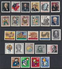 West Germany Berlin 1970 to 1974 Various Issues MUH
