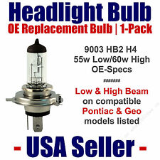 Headlight Bulb Low/High OE Replacement Fits Listed Pontiac & Geo Models - 9003