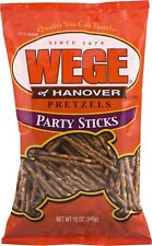 Wege of Hanover Pretzel Party Sticks - 12 Oz. (3 Bags)