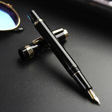 NEW Fine Wing Sung 698 Nib Pen Fountain Piston 2017  Clip Model Golden 5mm Gold