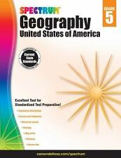 Spectrum: Spectrum Geography, Grade 5 : United States of America (2015,...