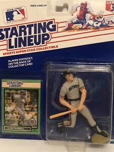 1989 Starting lineup Alan Trammell Baseball figure Card Detroit Tigers toy MLB