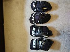 """New listing CCM Tacks Ultra 14"""" Adult Hockey Gloves & 2nd pair ITECH Pro745 gloves"""