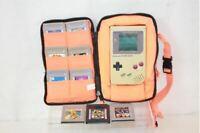 Nintendo Game Boy Original DMG-01 w/ Case & 10 Games 1989 Model