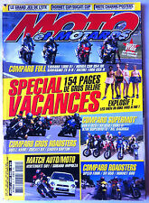 Moto et Motards n°54; Comparo Roadsters; Speed Four, Sv 650, Hornet 600/ Vertema