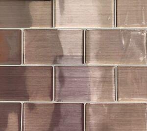 NEW 5PK 3D STICK KENSINGTON COPPER SUBWAY EFFECT SELF-ADHESIVE VINYL WALL TILES