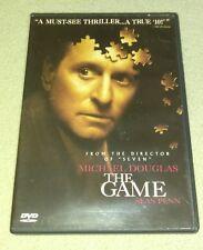 The Game DVD Michael Douglas