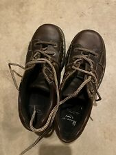 DR. MARTENS Airwair 8A79 Brown Leather Men's Oxfords Lace Up Shoes Size 11 Us