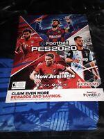 PES2020 Football Gamestop Exclusive Promo Poster