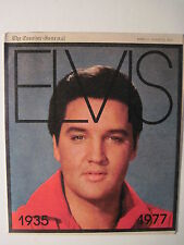 Louisville Courier Journal 8-22-1977. Elvis Presley Memorial 16 Page Pull-Out!