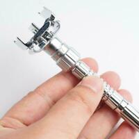 Men Adjustable Razors Double Edge Shaving Vintage Razor Blades Zinc Shaver Z1A8