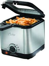 Oster 1.5 Quart Deep Fryer Compact Stainless Steel