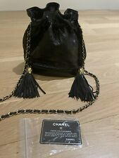Chanel Black Quilted Lambskin Leath