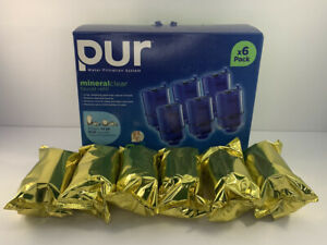 OPEN BOX - 6-pk Sealed PUR Water System Replacement Refill Filters Model RF-9999