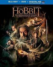 The Hobbit: The Desolation of Smaug (Blu-ray/DVD, 2014, 3-Disc Set, Canadian)