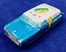 Vintage ICE CREAM tin  toy car made in japan TN