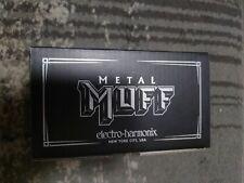Electro-Harmonix Metal Muff High Gain Distortion Pedal Mint
