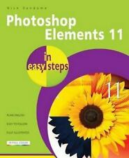 Photoshop Elements 11 in easy steps, Vandome, Nick, Good Condition, Book