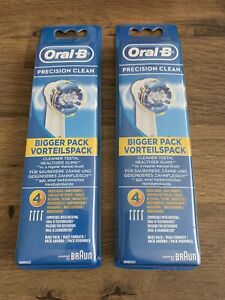 Oral-B Precision Clean Toothbrush Heads X 8