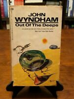 OUT OF THE DEEPS by John Wyndham (Vintage 1969 Edition) 3rd Printing - Good Cond