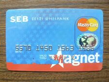 Estonia Estonian Uhispank SEB Group MasterCard Credit Card Expired 03/2008